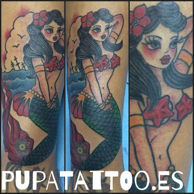 https://flic.kr/p/Mat7ef | Tatuaje Sirena Pupa Tattoo Granada | by Marzia Instagram : instagram.com/pupa_tattoo/ Web: www.pupatattoo.es/ Citas: 958221280 #tattoo #tattoos #tatuaje #tatuajes #tattoogranada #ink #inked #inkaddict #timetattoo #tattooart #tattooartists