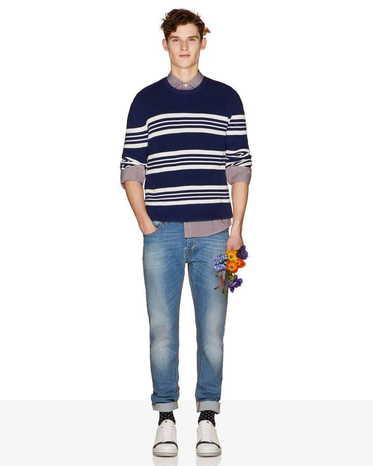 Skinny #jeans from #Benetton #SS18 #men collection