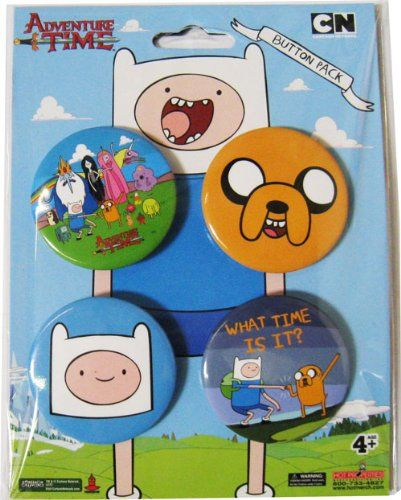 Adventure Time Jake & Finn Collector's Button Pack