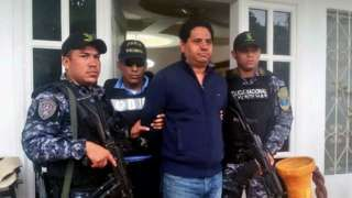 Honduras mayor arrested on suspicion of directing a group of assassins