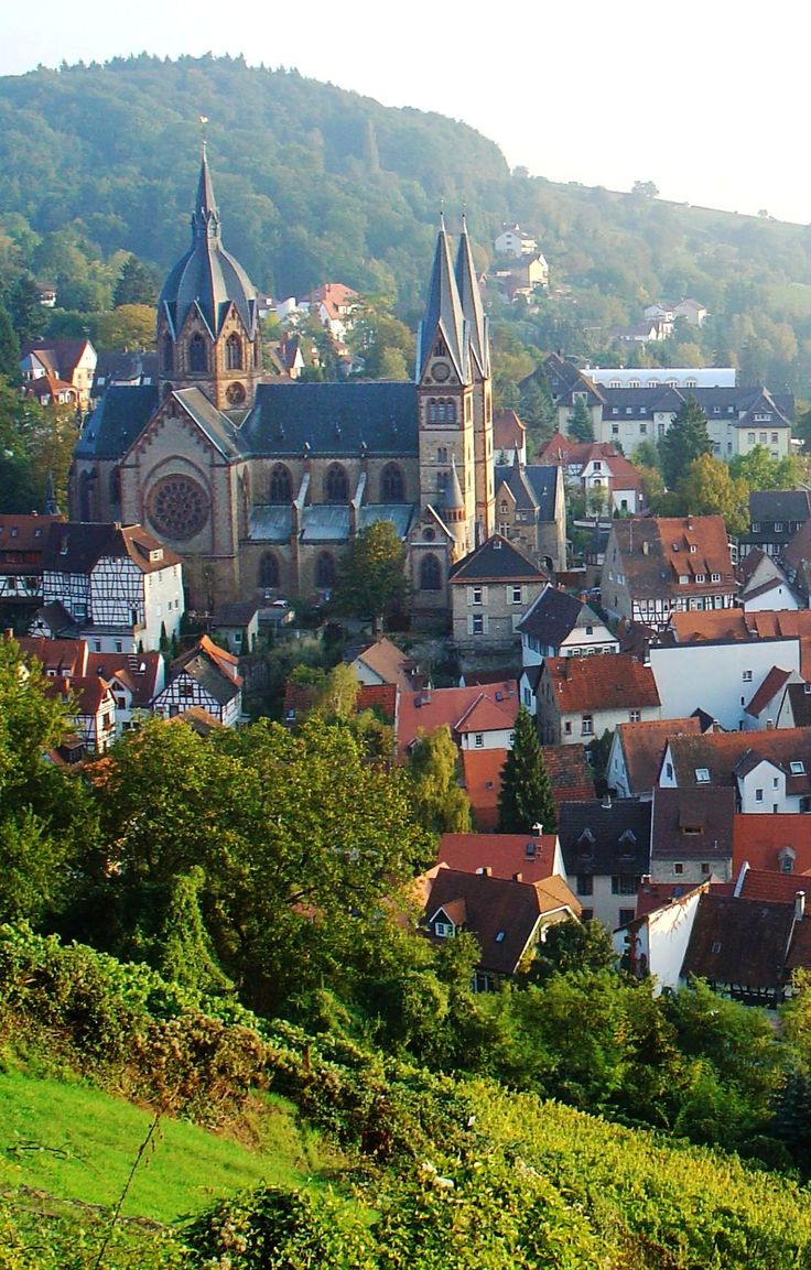 The Cathedral of Heppenheim, Hesse, Germany | by Marco Mayer