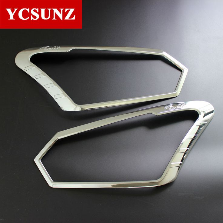 2017 2016 For Isuzu d-max Front Lights Cover For Isuzu d-max 2016 Special Decorative Parts For Isuzu Chevrolet d-max 2016 Ycsunz #Affiliate