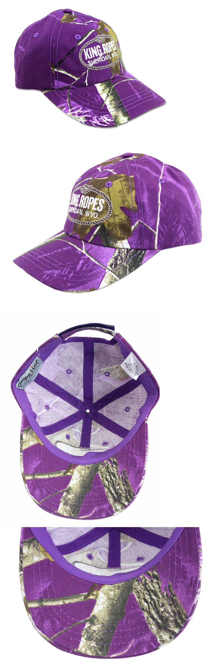 Riding Helmets 47269: King Ropes Rope Hat - Relaxed Low Profile Cap - Purple Camo ** Free Shipping ** -> BUY IT NOW ONLY: $32.99 on eBay!