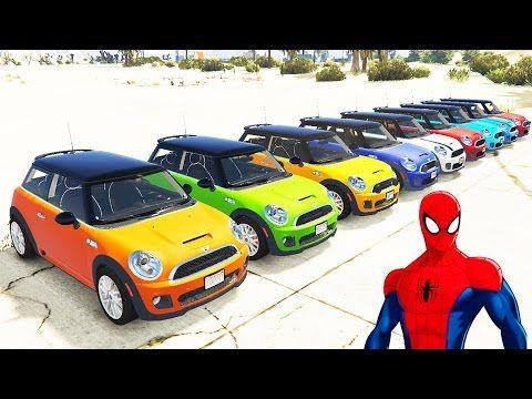 Şimşek McQueen ve Örümcek Adam Mini Arabalar İle (Çizgi Film Tadında - Türkçe Dublaj) - YouTube