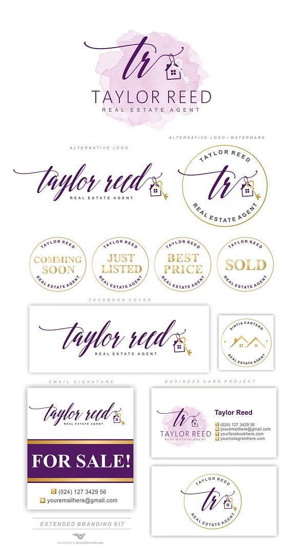 Real Estate logo design Houses logo Realtor logo Luxury