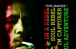 DP BBM Bob Marley Soul Rebel Lyrics