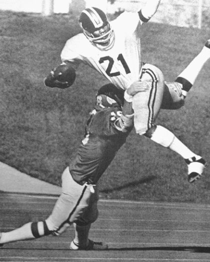 Tommy Reamon, born in Newport News on March 12, 1952, was a college (Missouri) and NFL football player (Pittsburgh Steelers & Kansas City Chiefs), as well as prestigious local high school football coach.  http://en.wikipedia.org/wiki/Tommy_Reamon