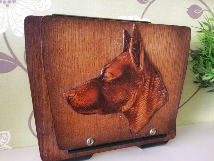 A personal favourite from my Etsy shop https://www.etsy.com/uk/listing/555480649/vintage-dog-letter-holder-shabby-rustic