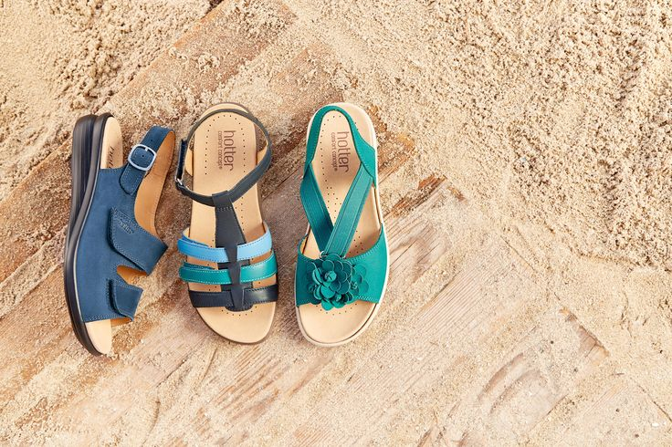 Shop the beautiful range of #Hotter sandals.