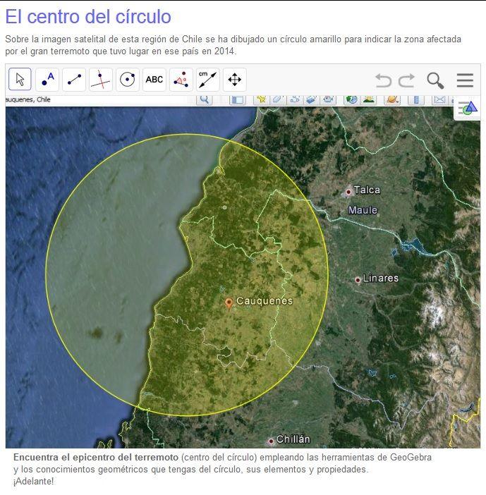 TOUCH esta imagen: Círculo, circunferencia, circuncentro, mediatriz... by Esther Moleri
