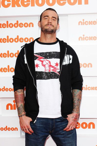 I confess.  I like wrestling.... there I said it....  CM Punk 2011 | CM Punk WWE CM Punk WWE arrives at the 2011 Nickelodeon Kid's Choice ...