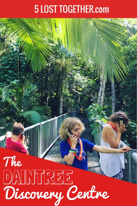 Daintree Rainforest, Australia - learn all about the rain forest at this great Interpretive Centre.