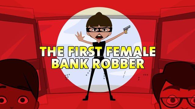 """The First Female Bank Robber"" - A woman is robbing the bank Written by Shoa Appelman  http://www.femalebankrobber.com  CREW Producer - Shoa Appelman Animator - Daniel Robertson  CAST Andy Weld Meg Weckstein Michael Alvino Shoa Appelman  SPECIAL THANKS Isaiah Headen David Appelman  #animation #comedy #cartoon WATCH MORE VIDEOS HERE: https://badmedicinecomedy.com/videos"