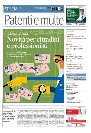 Il Sole 24 Ore - Speciale Patenti e multe (2013/01/28) Italiano | True PDF | 24 Pages | 20,75 MB