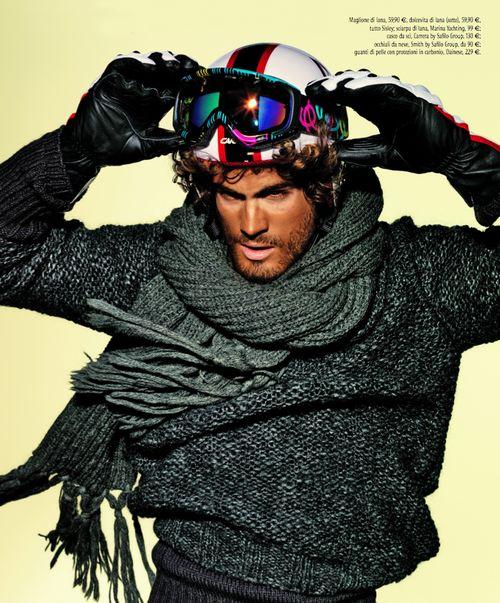 Quanto può essere #top l'abbigliamento da #sci? Ph by @tonithorimbert for #stylemagazine