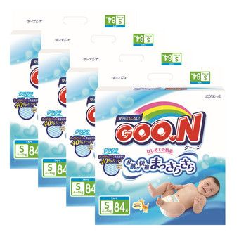 Buy GOO.N JV Diapers S84 x 4 Packs - Free GOO.N Baby Wipes Large & Thick 70s x 2 Packs worth $11.80! online at Lazada. Discount prices and promotional sale on all. Free Shipping.