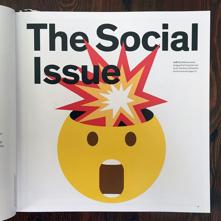 #BIG #BADA #BOOM! http://flat33.com/index.php?page_id=904 Huge surprise in this month's Creative Review 'Social issue' with a massive 8-page book review of the new FL@33-designed book The Story of Emoji by Gavin Lucas (Prestel) incl. a full page of our very own Mind Blown emoji and to top this up even mentions of Stereohype's fresh new Emoji Series button badges that feature custom emoji from the book. Get your copy of the mag now and badges of course! https://www.stereohype.com