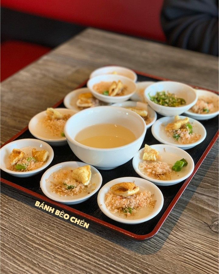 Banh Beo Chen Food Vietnamese Cuisine Asian Recipes