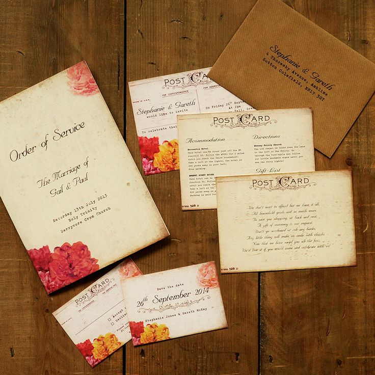 10 best wedding stationery images on pinterest wedding With order of wedding invitation suite