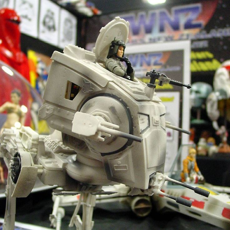 Star Wars NZ - AT-ST vehicle and action figure