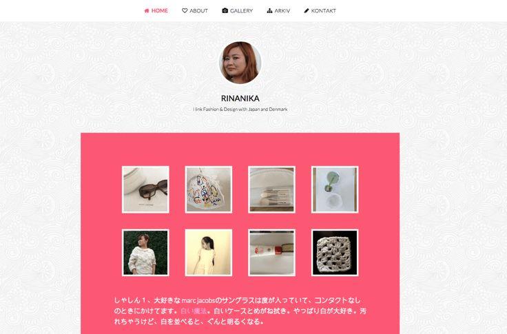 Minimalistisk Blog