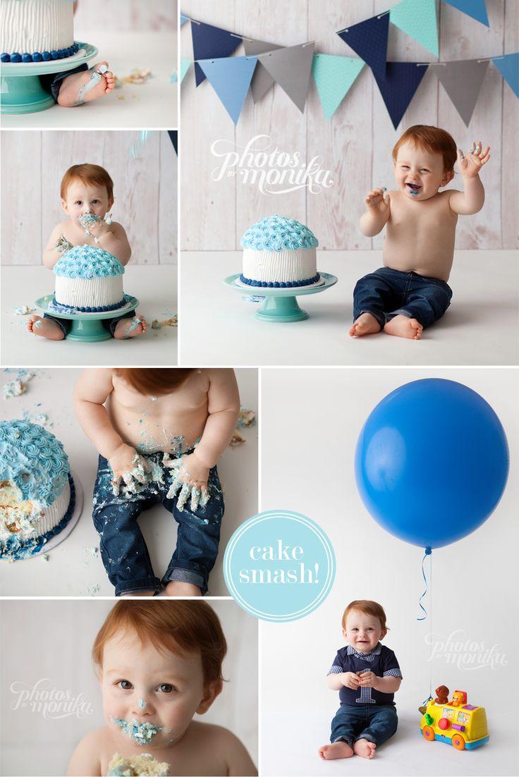 blue boy cake smash manhattan beach