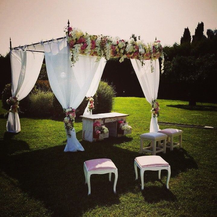 #civilwedding #geogeousstile #floralarrangements #eventdecoration www.gennymonaco.it