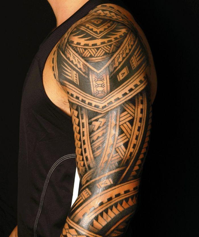 1001 Ideas De Tatuajes Maories Y Su Significado En La Cultura Polinesia Tatuaje Maori Tatuaje Maori Hombro Tatuaje Polinesio En El Brazo