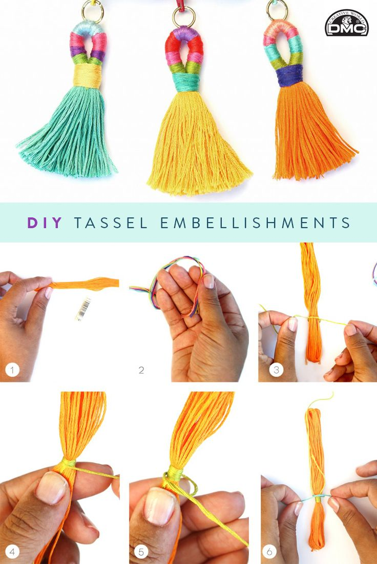 We never met a tassel we didn't love. Follow along with this DIY tassel embellishments tutorial with us and our partner @damasklove.
