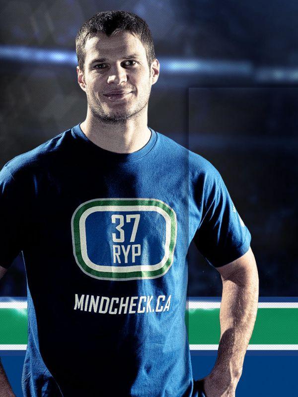 Kevin Bieksa, Vancouver Canucks http://mindcheck.ca
