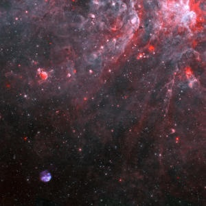 A Youthful 'Star Wreck': Youngest-Known Supernova Remnants in Our Milky Way Galaxy Excerpt: [..] the explosion's shock wave is racing through space at about 1.5 million mph (2.4 million km/h). The Chandra observations reveal the presence of iron, neon, silicon and sulfur at temperatures exceeding 28 million C, a reminder not only of the energies involved but of the role supernovae play in seeding the galaxy with heavy elements produced in the hearts of massive stars.