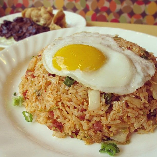 Da Kitchen Kihei: Kim Chee Fried Rice From Zippy's In Hawaii