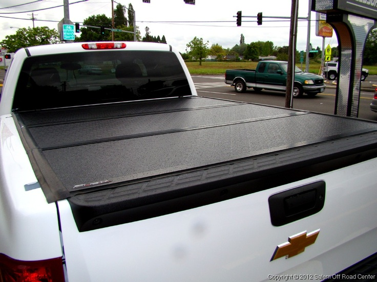 A 2012 Chevy 2500hd with an UnderCover Tonneau Covers Flex cover. http://www.salemoffroadcenter.com/