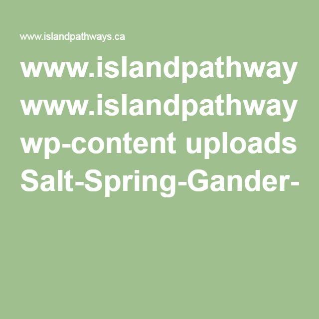 www.islandpathways.ca wp-content uploads Salt-Spring-Gander-article.pdf