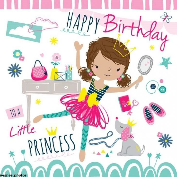 79 Happy Birthday Wishes For Kids With Sweet Images 6 Happy Birthday Kids Birthday Wishes For Kids Happy Birthday Princess