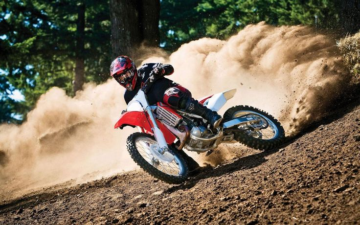 Motorcycle off road photography