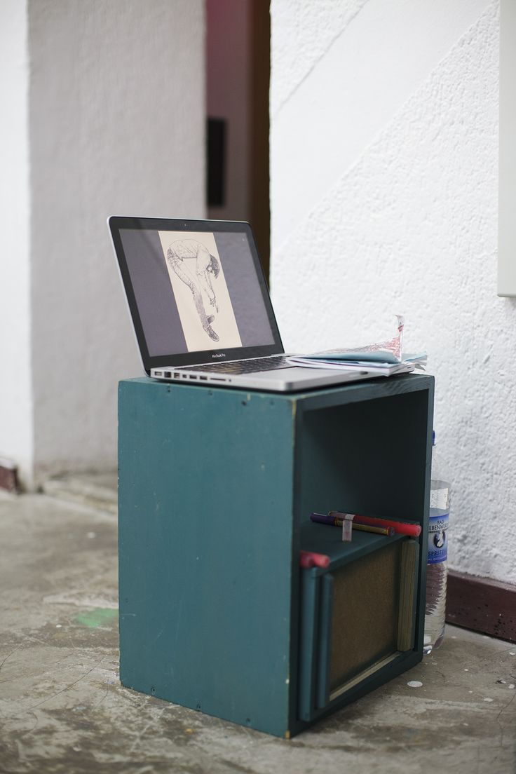 We set off to Berlin to see how Karl Addison's #Workspace plays a roll in his art :: http://l.ctx.ly/r/xov2 :: @idrawalot