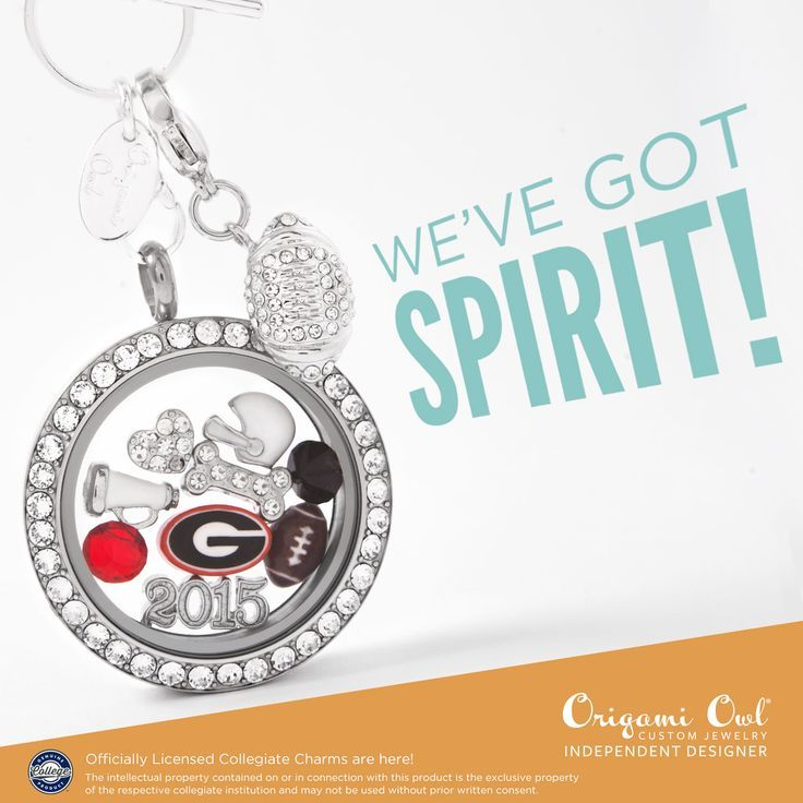 Origami Owl and #NCAA #SEC #georgiabulldogs #football #charms #official #giftsforher #GoDawgs #bulldogfans Visit my site or join my FB VIP group: https://www.facebook.com/groups/468828649920331/