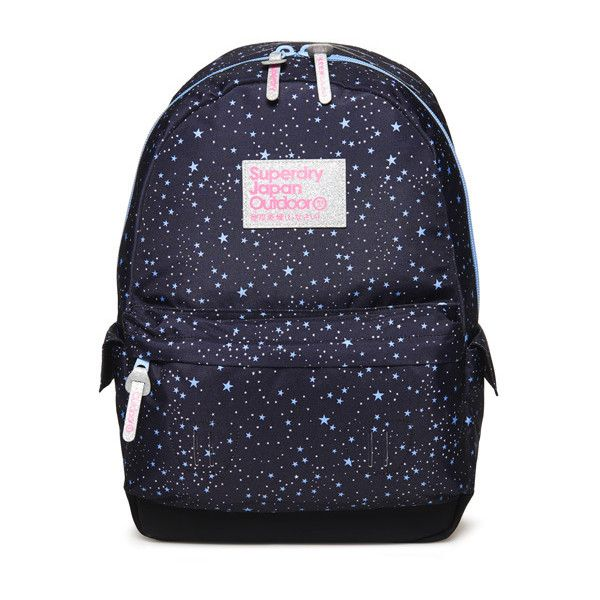 Superdry Moonlight Montana Rucksack ($45) ❤ liked on Polyvore featuring bags, backpacks, blue, zip backpack, blue backpack, padded bag, superdry rucksack and padded backpack
