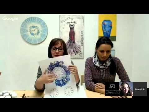 06 10 2015 Декупажные шедевры  Галина Зубкова и Алена Антипова - YouTube