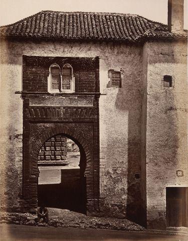 Charles Clifford (1819-62) - Photographic Souvenir of Spain vol.I: Torre del Vino, Granada, c.1858