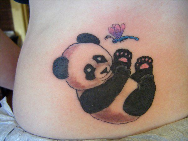 131 best images about panda tattoo on pinterest first for Baby panda tattoo