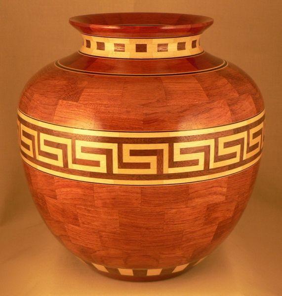 Bubinga Vase