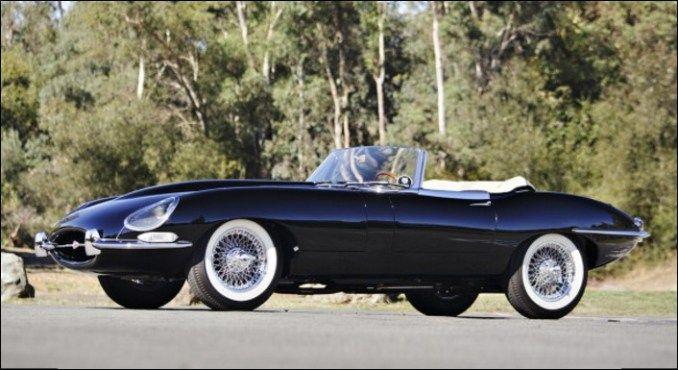 jaguar roadster e type 30