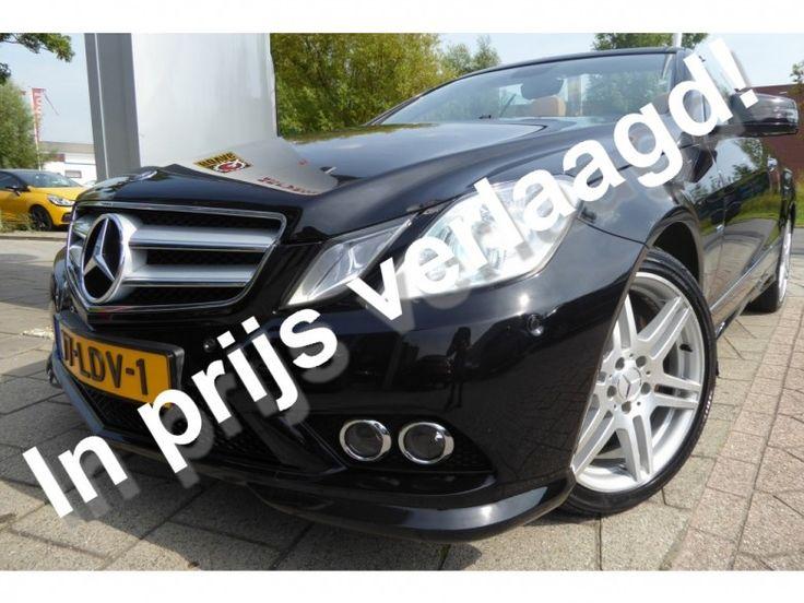 Mercedes-Benz E-Klasse  Description: Mercedes-Benz E-Klasse Cabrio 350 CDI ELEGANCE Automaat  Price: 337.49  Meer informatie