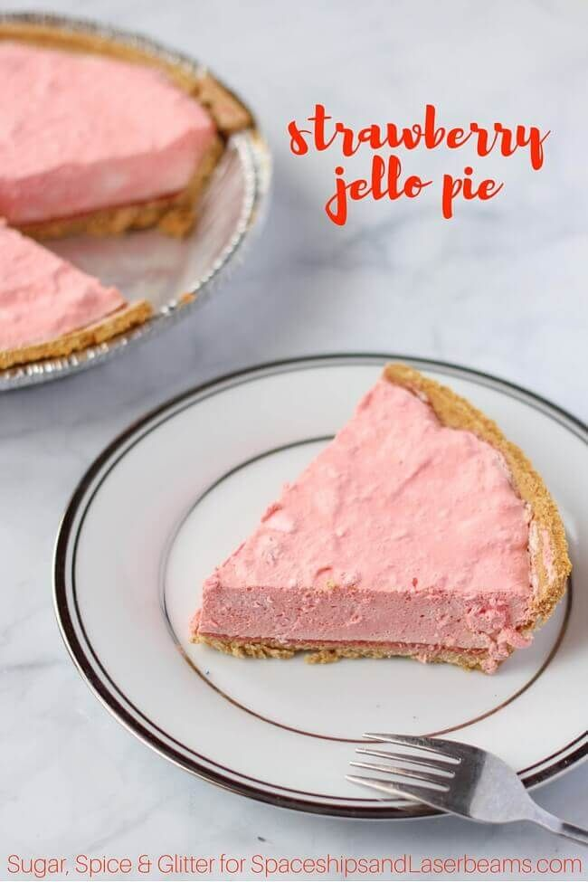 jello pie no-bake dessert