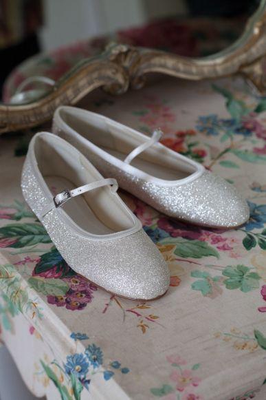 glitter bruidsmeisjes-schoenen bridesmaid shoes