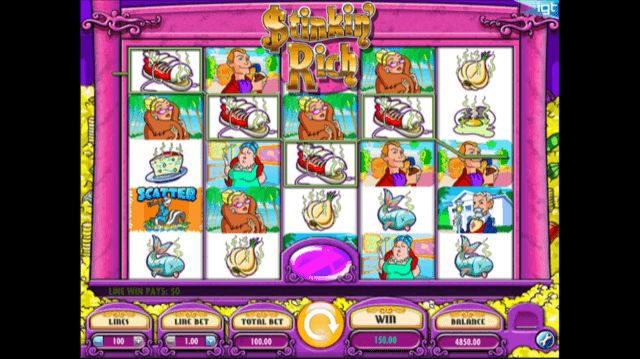 Stinkin' Rich Slot Review | IGT