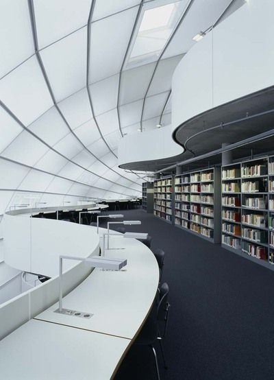 University Library Berlin by Architect Sir Norman Foster.