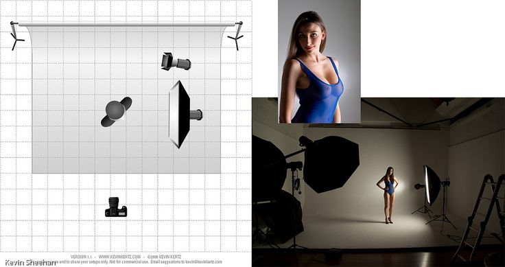 This picture of Aaliyah was taken at an Adrian Pini Studio Group Shoot and the lighting setup was by the studio, I show it here just for information.  The processed image can be seen here www.flickr.com/photos/9528832@N06/5195481320/